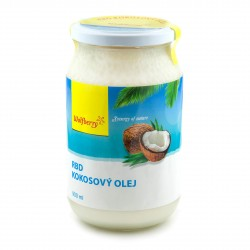 RBD Kokosový olej 900 ml Wolfberry