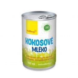 Kokosové mlieko BIO 400 ml Wolfberry