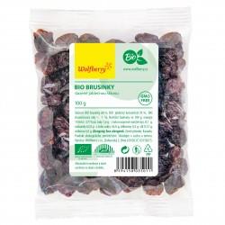 Brusnice sladené jablkovou šťavou BIO 100 g Wolfberry