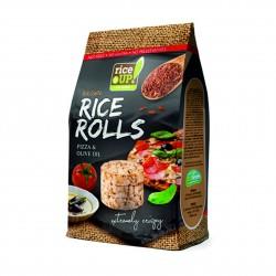 Rýžové minichlebíčky pizza, olivový olej Rice Up 50 g