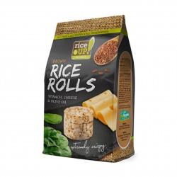 Rýžové minichlebíčky špenát, sýr, olivový olej Rice Up 50 g
