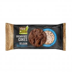 Rýžové chlebíčky s mléčnou belgickou čokoládou Rice Up 90 g