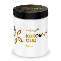Kokosový olej BIO 300 ml Wolfberry