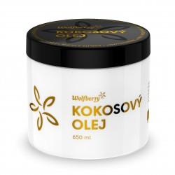 Kokosový olej BIO 650 ml Wolfberry