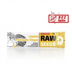 Tyčinka RAW SEEDS Bar ananas + zázvor Nutrend 50 g