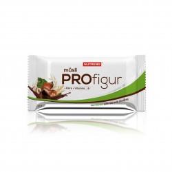 Tyčinka PROFIGUR MÜSLI oříšková s mléčnou čokoládou Nutrend 33 g