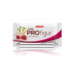 Tyčinka PROFIGUR MÜSLI višňová s jogurtovou polevou Nutrend 33 g