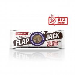 Tyčinka FLAPJACK GLUTEN FREE švestka a lískový ořech Nutrend 100 g