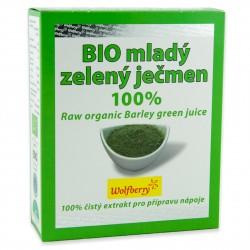 Mladá jačmenná šťava BIO 75 g Wolfberry - doplněk stravy