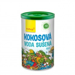 Kokosová voda BIO v prášku 150 g Wolfberry