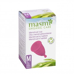 Menstruační kalíšek velikost M 1ks Masmi