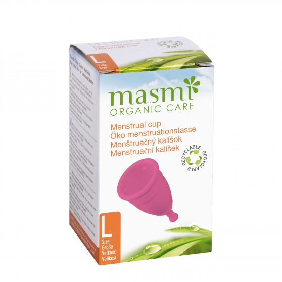 Menstruační kalíšek velikost L 1ks Masmi