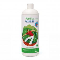 Prostředek na nádobí vhodný k mytí ovoce a zeleniny 1l Feel Eco