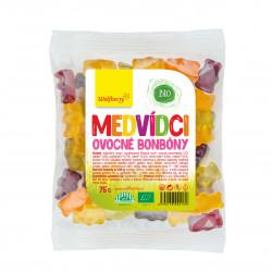 Ovocné bonbóny Medvídci BIO 75 g Wolfberry