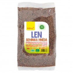 Ľanové semienko hnedé BIO 500 g Wolfberry