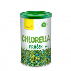 Chlorella prášek BIO 100 g Wolfberry