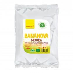 Banánová mouka BIO 400 g Wolfberry*