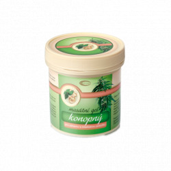 Konopný masážní gel 250ml Topvet