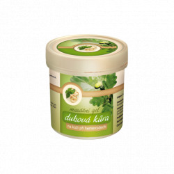 Dubová kůra masážní gel 250ml Topvet