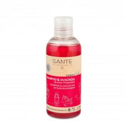Šampon a sprchový gel pro děti - princezny BIO 200 ml Sante
