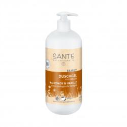 Sprchový gel Kokos - Vanilka 950 ml Sante