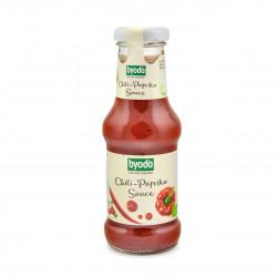 Chilli-Paprika pálivá omáčka BIO 250 ml Byodo