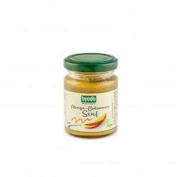 Hořčice mango-balsamico BIO 125 ml Byodo