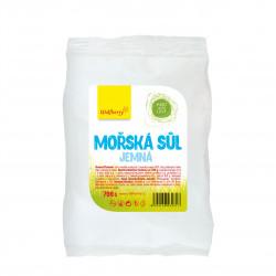 Mořská sůl jemná 700 g Wolfberry