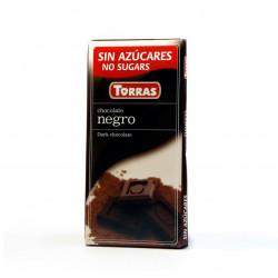 Hořká čokoláda 52% 75g Torras