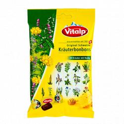 Švýcarské bonbony 20 bylin s medem 75g Topvet