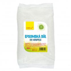 Epsomská sůl do koupele 1000 g Wolfberry