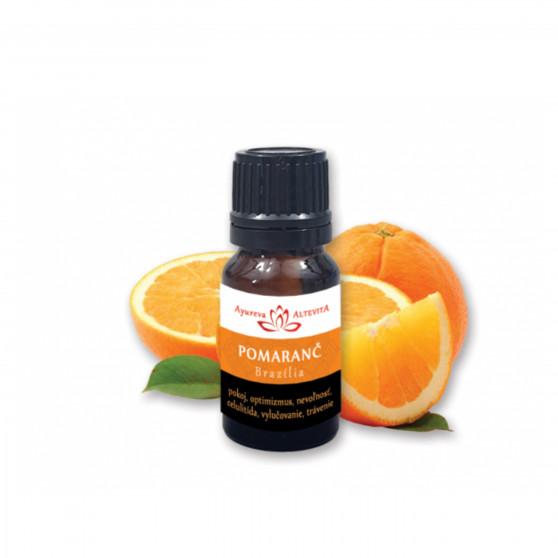 Pomeranč 100% esenciální olej 10 ml Altevita