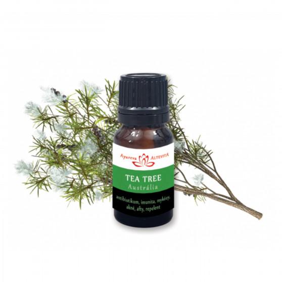 Tea tree 100% esenciální olej 10 ml Altevita