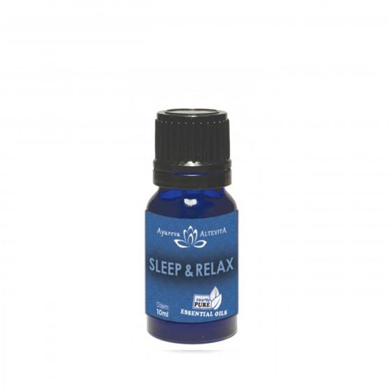 Spánek - Relax 100% směs esenciálních olejů 10 ml Altevita