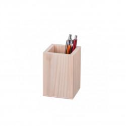 Dřevěný čtvercový stojan Čisté Dřevo