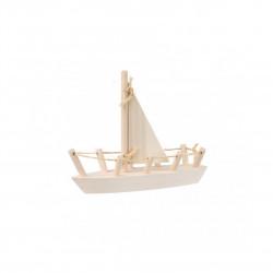 Dřevěná lodička Čisté Dřevo