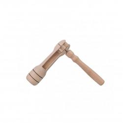 Dřevěná řehtačka Čisté Dřevo