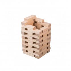 Dřevěná kouzelná věž z kostek Čisté Dřevo