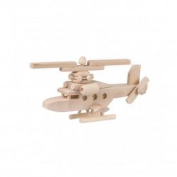 Dřevěný vrtulník Čisté Dřevo