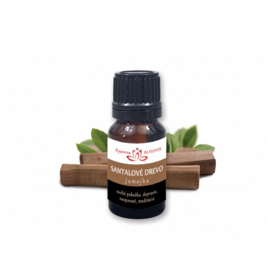 Santalové dřevo 100% esenciální olej 10 ml Altevita