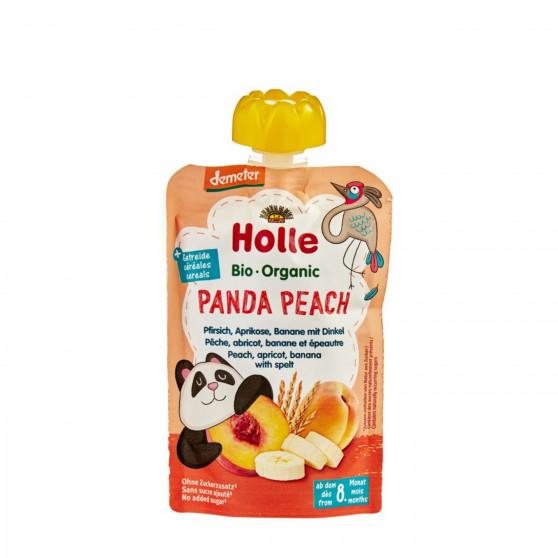 Ovocné pyré - broskev, meruňka, banán BIO pro děti 100 g Holle