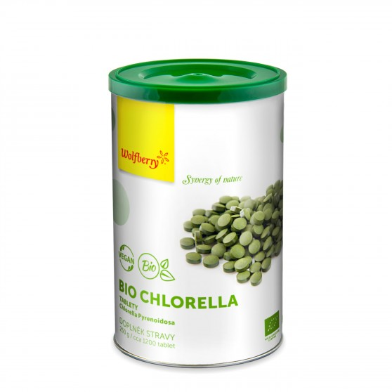 Chlorella BIO 250 g 1200 tbl Wolfberry
