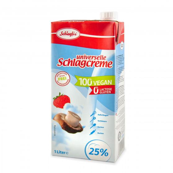 Veganská smetana 25%  1000 ml Schlagfix