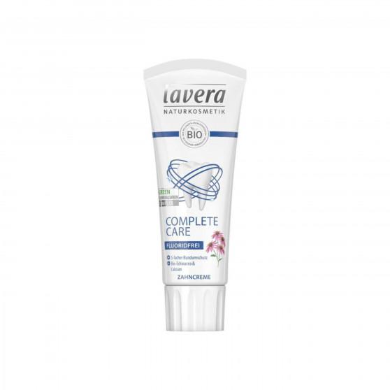 Zubní pasta Complete Care bez flouridu 75 ml Lavera