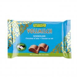 Čokoláda mliečna BIO 100 g Rapunzel