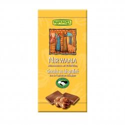 Čokoláda Nirwana mliečna BIO 100 g Rapunzel