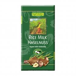 Čokoláda ryžová s kúskami orieškov BIO 100 g Rapunzel