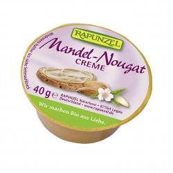 Mini mandľovo-nugátový krém BIO 40 g Rapunzel