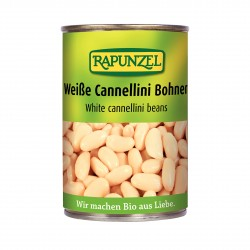 Biele fazuľa sterilizované BIO 400 g Rapunzel